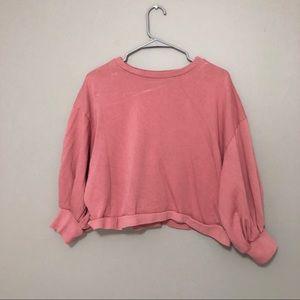 ASOS cropped sweatshirt